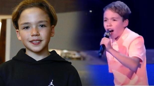 12 yaşındaki Kaya Sunel, Almanya'yı büyüledi